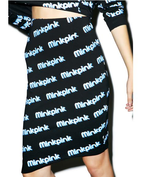 MP Logo Skirt