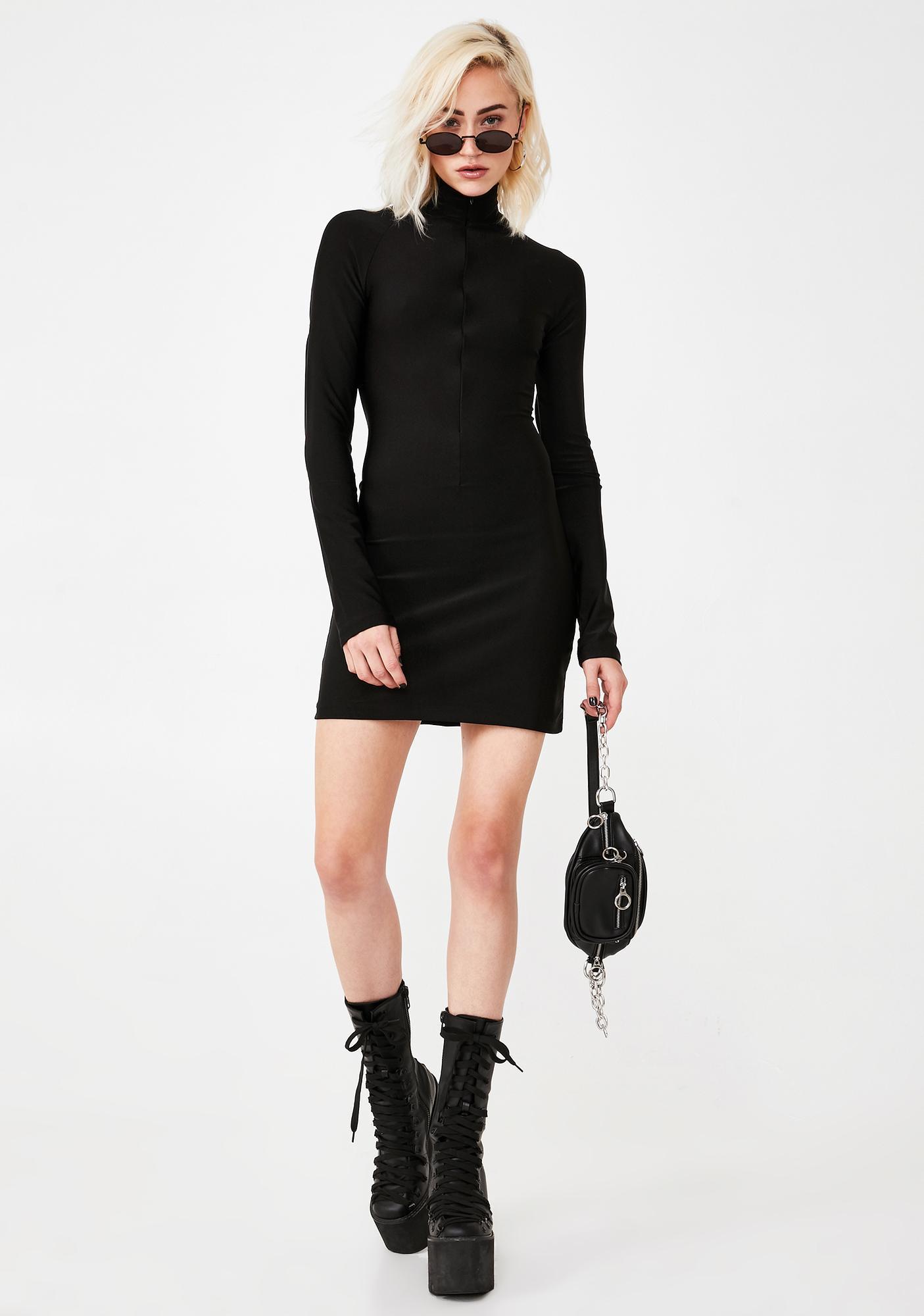 Kiki Riki Control Freak Mini Dress