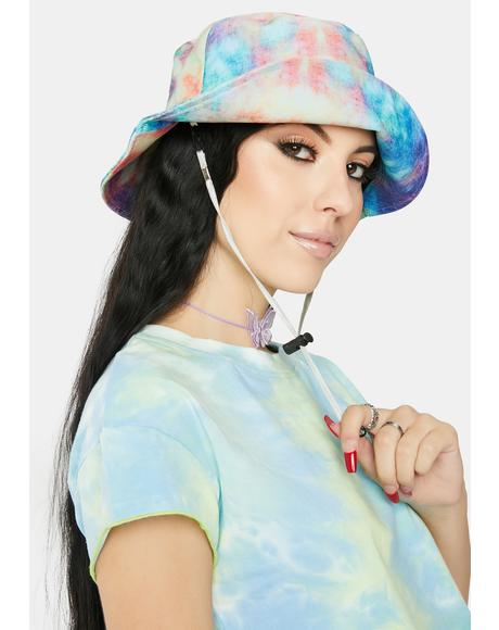Trippy Love Tie Dye Bucket Hat