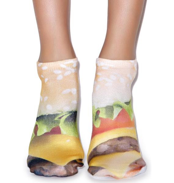 Good Burger Ankle Socks