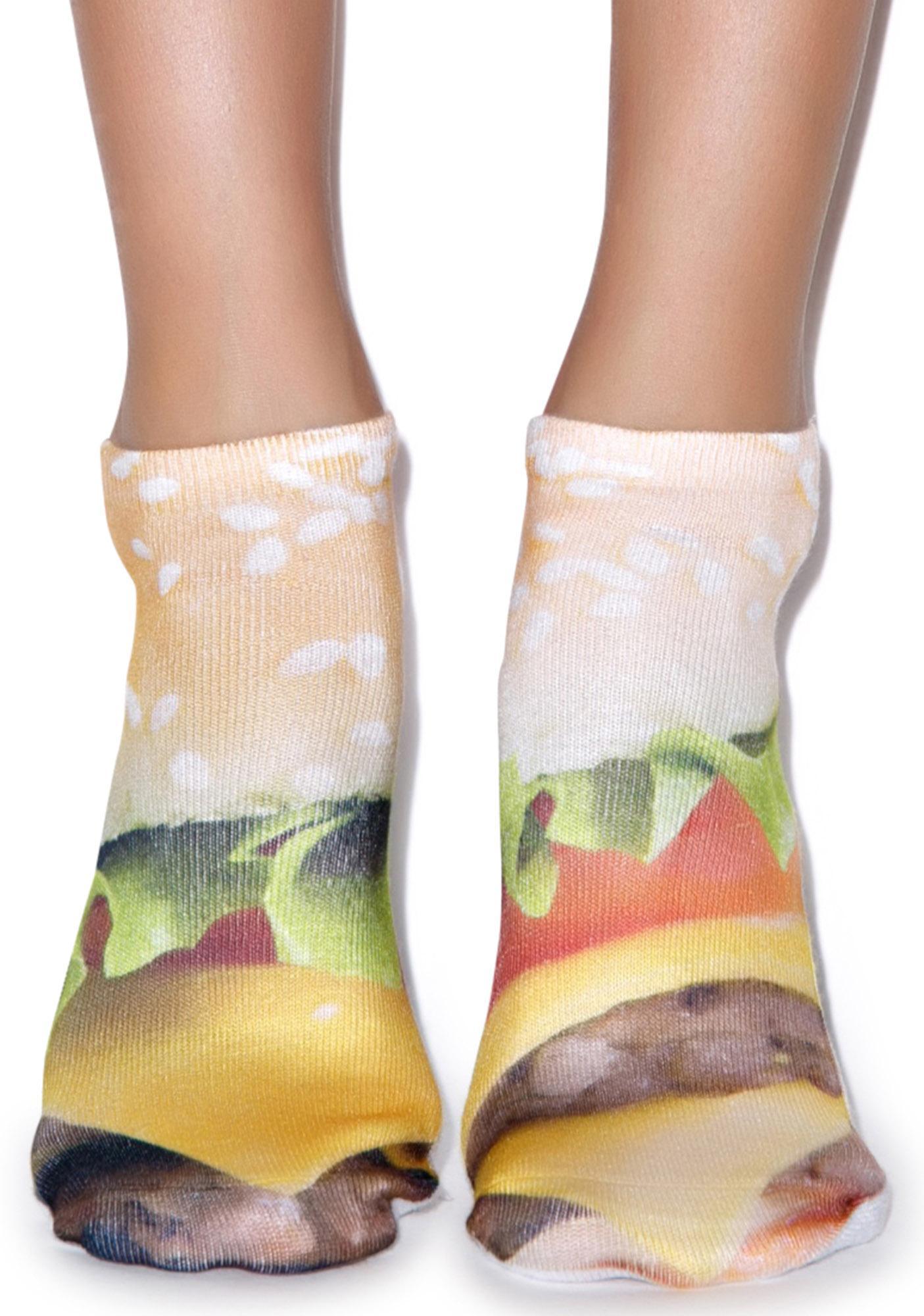Good Burger Ankle Socks
