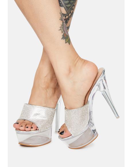 Libby Rhinestone Heels