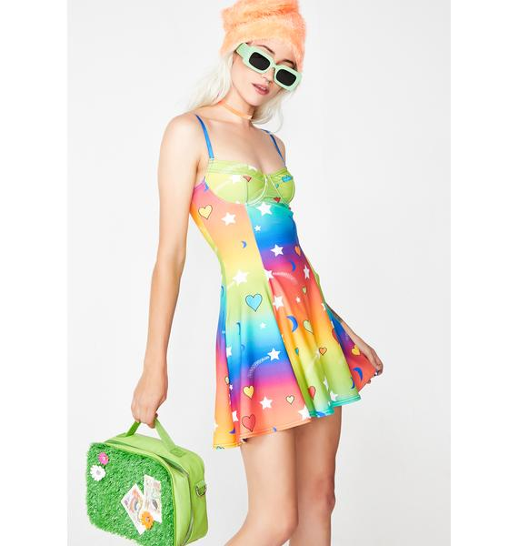 Current Mood Outta This World Mini Dress