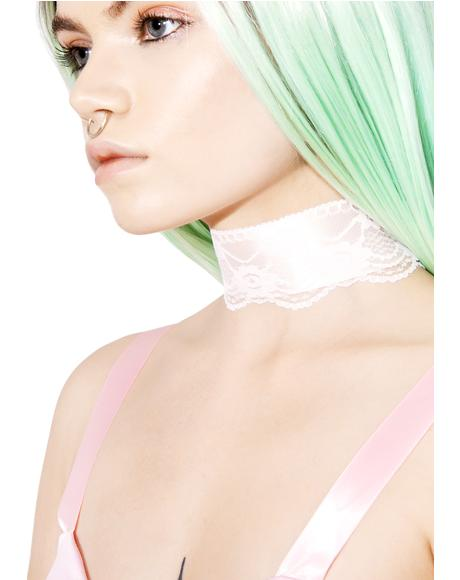 Angel Speak Lace Choker