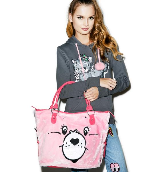Iron Fist Care Bears Stare Tote