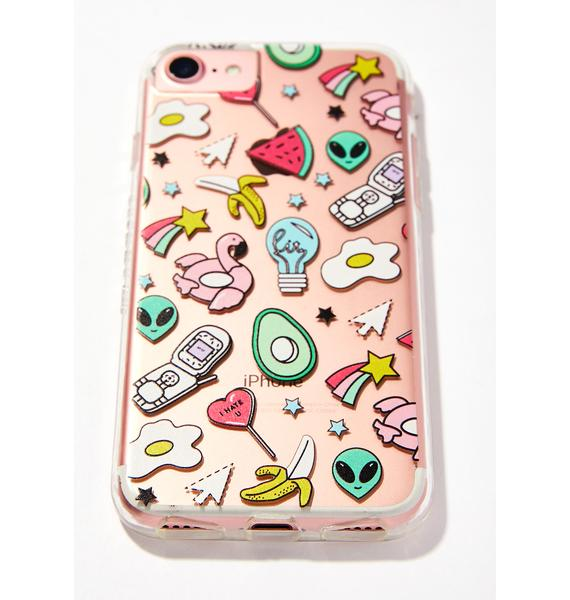 Skinnydip Wild Card iPhone Case