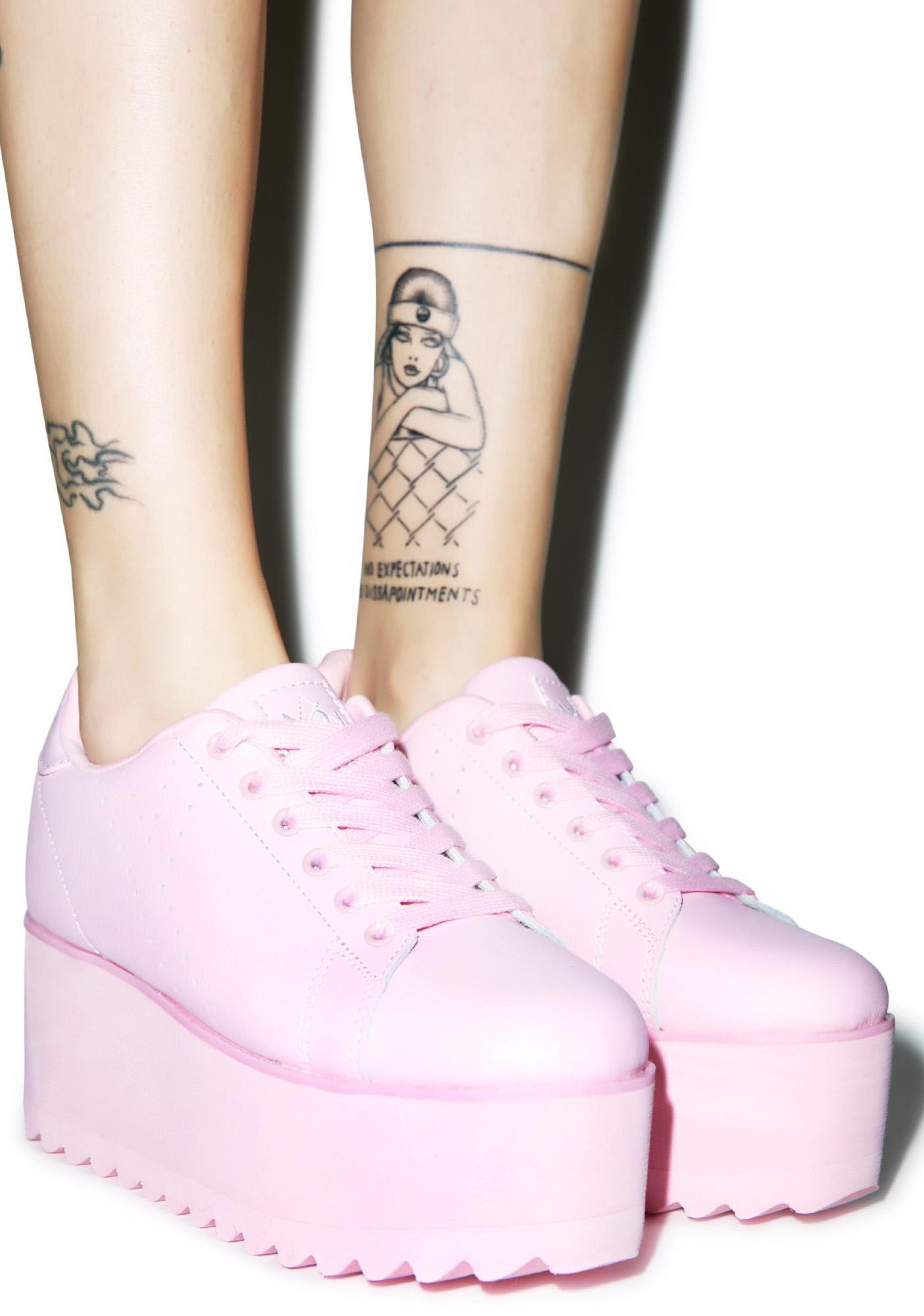 Y.R.U. Lala Platform Sneakers | Dolls Kill