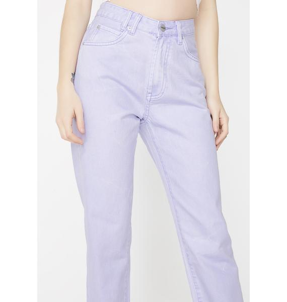 Insight Slater Purple Tina Mom Jeans