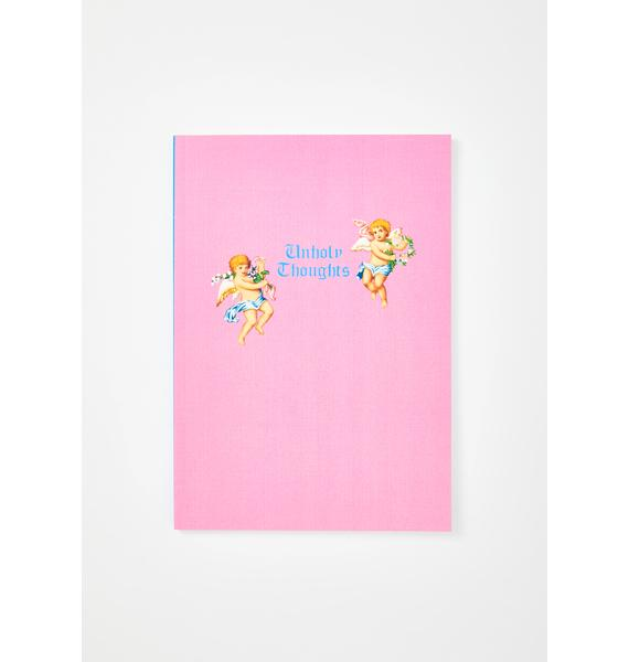 Central 23 Unholy Thoughts Cherub Notebook