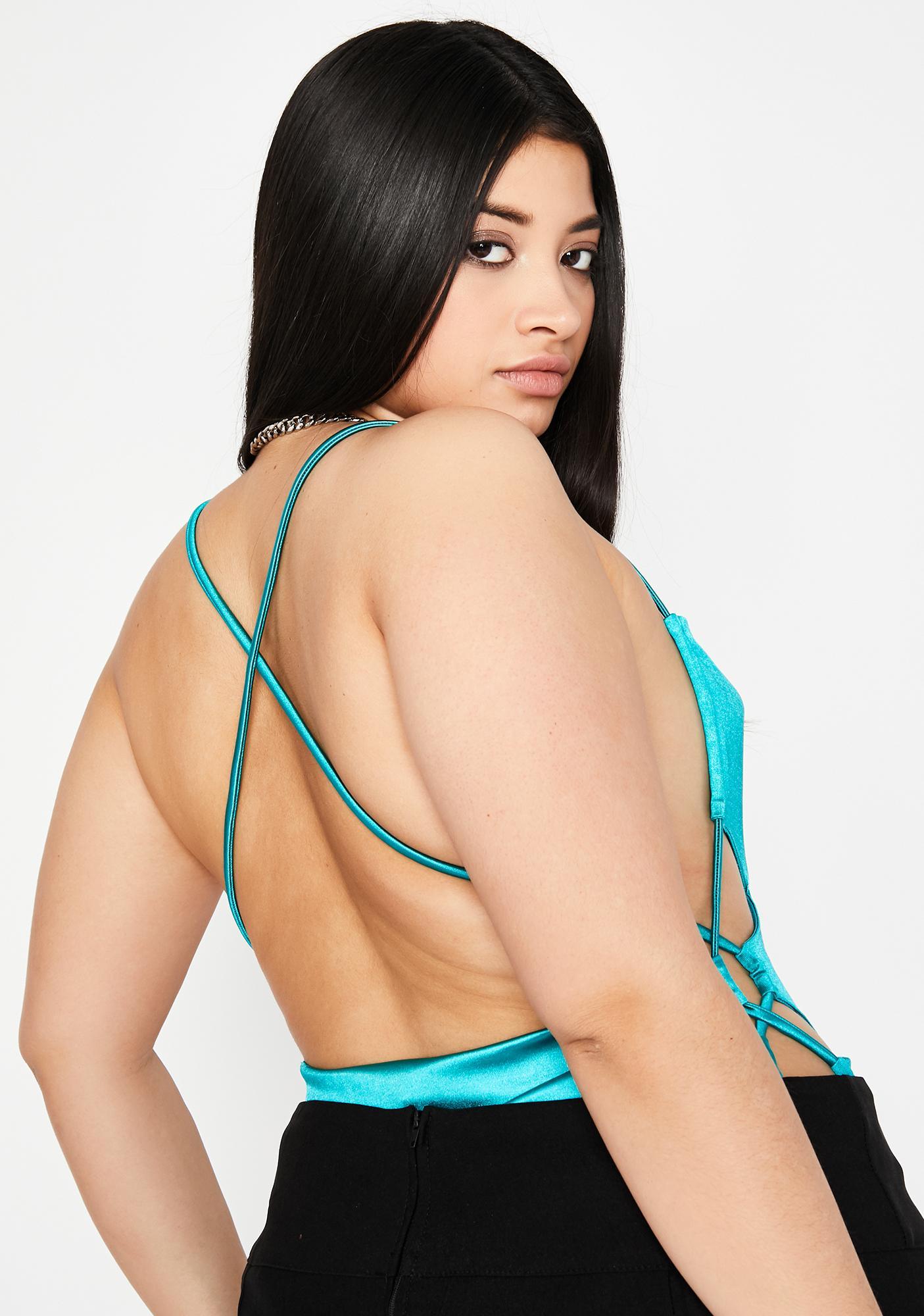 Berry Totally Tangled Desires Bodysuit