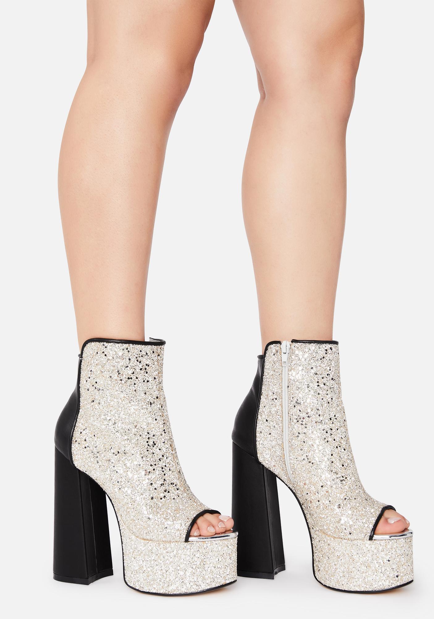 Lemon Drop by Privileged Cacie Platform Heels