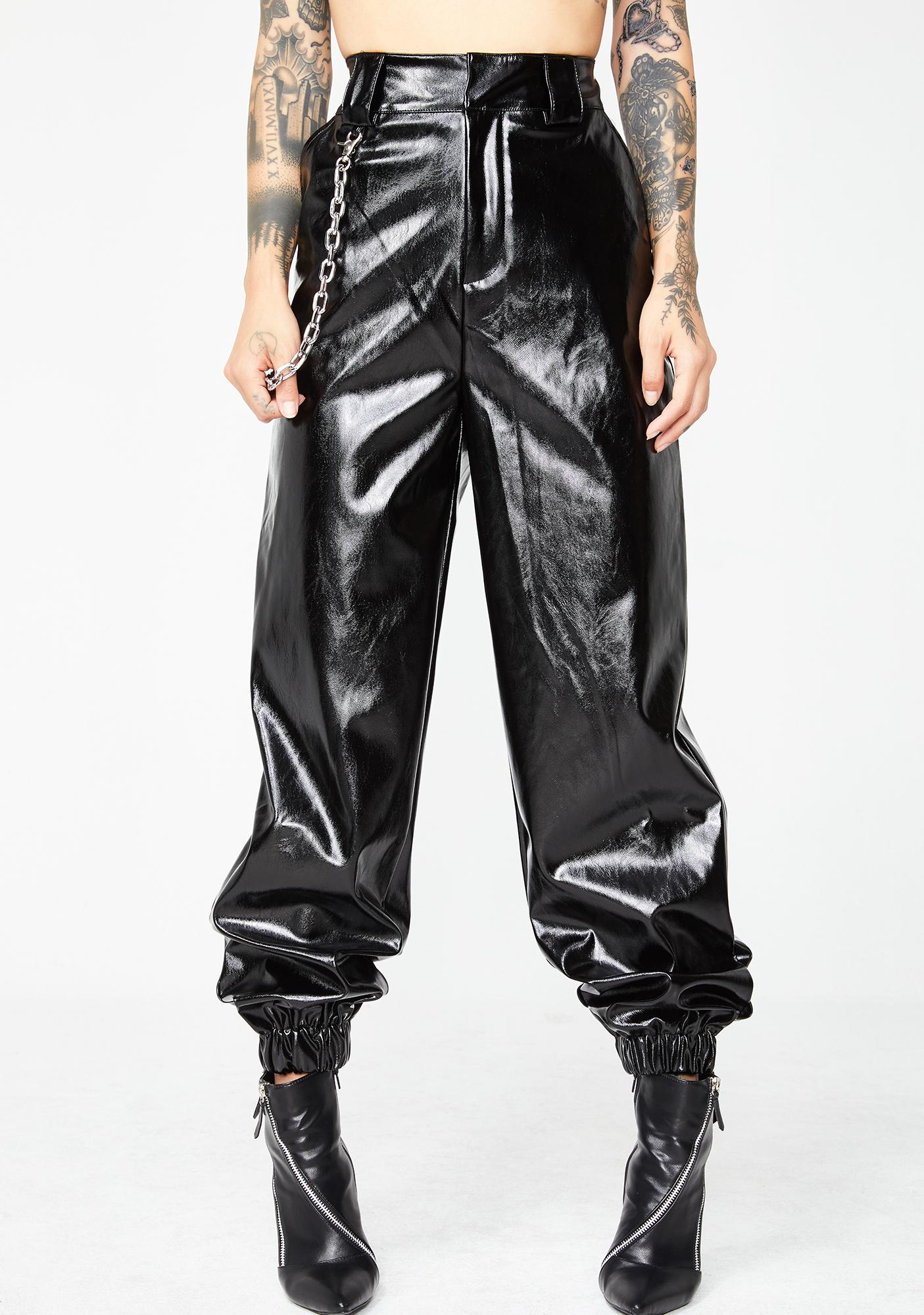 I AM GIA PVC Cobain Pants
