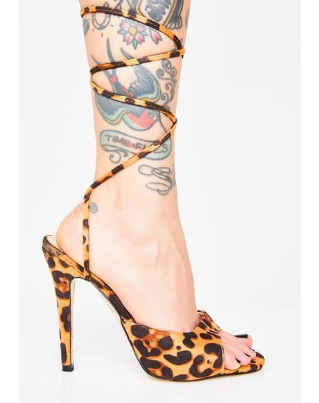 Pretty Kitty Patent Heels