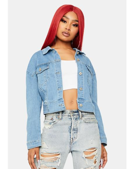 Denim Darling Cropped Jacket