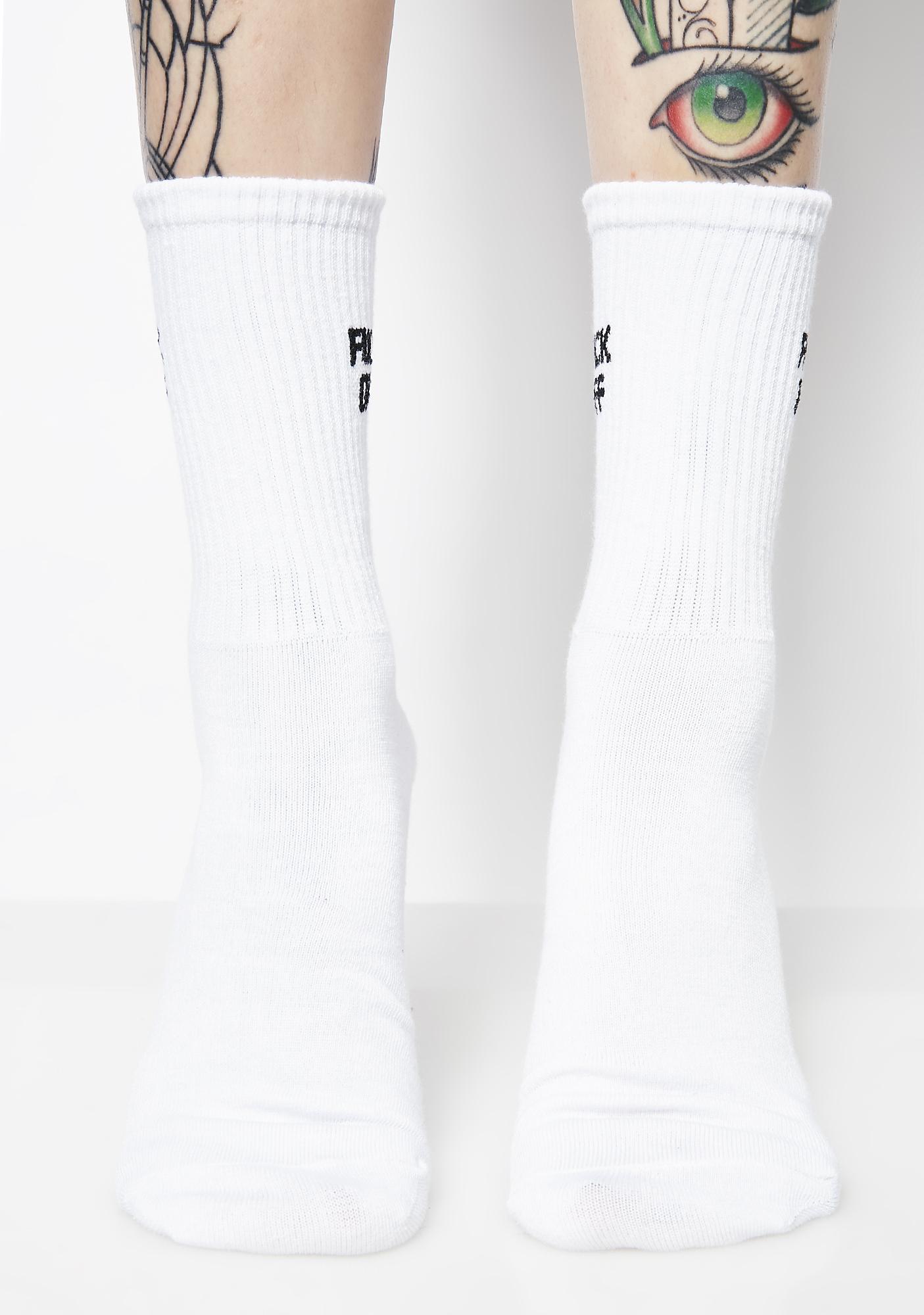 Go Away Socks