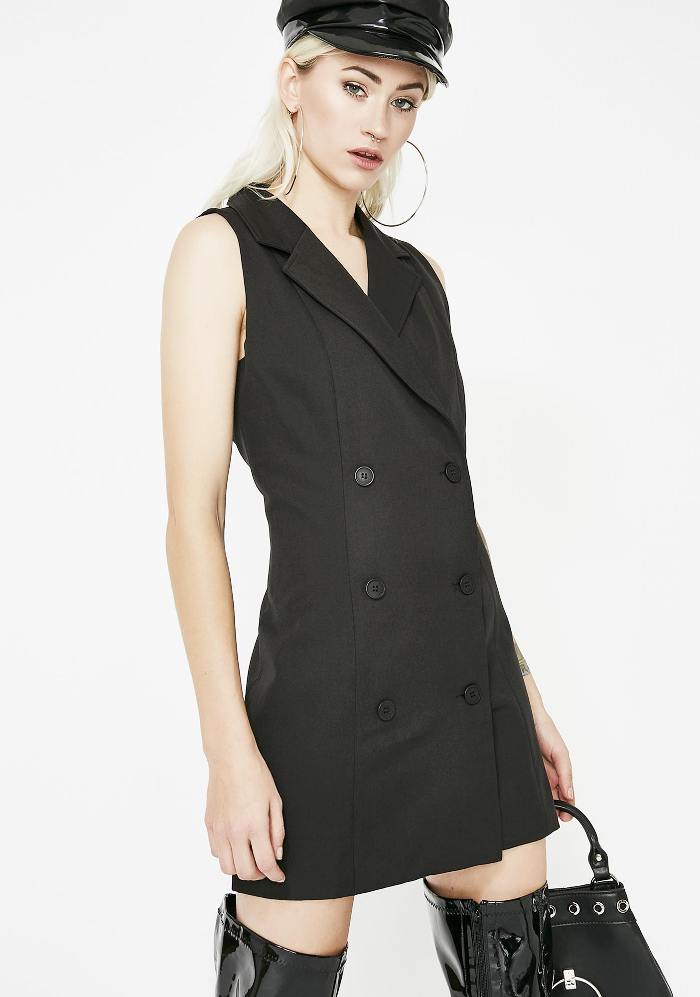 Business Plan Blazer Dress