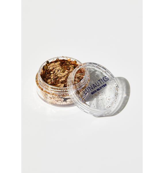 Lunautics Capri Rose Gold Eco Glitter