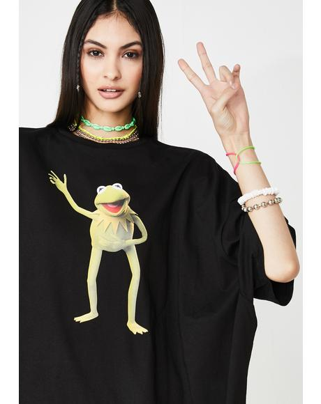 The Muppets Kermit Graphic Tee