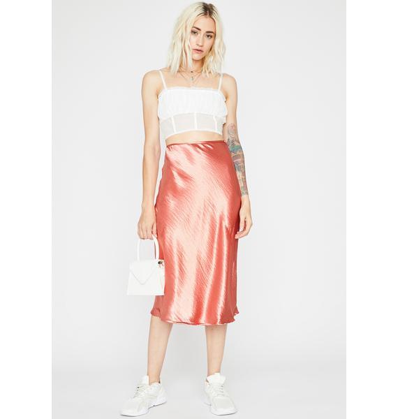 She's Timeless Midi Skirt