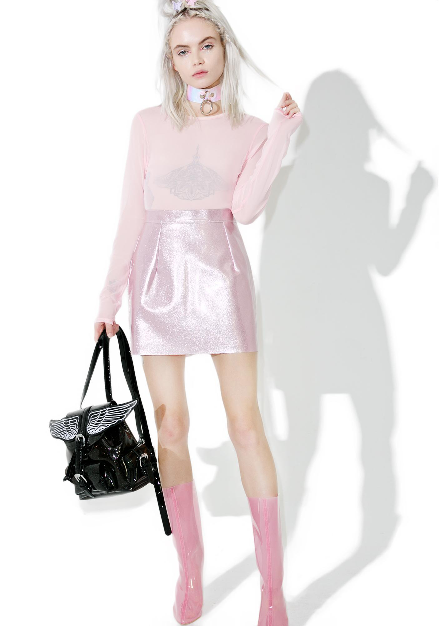 Bunny Holiday Suga BB Vinyl Skirt