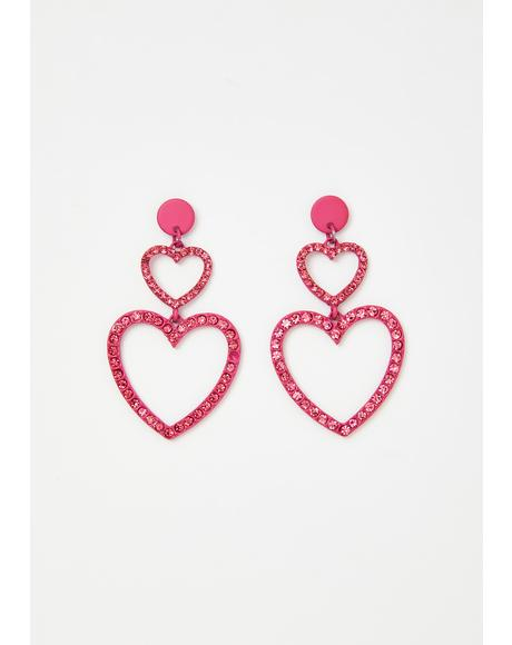 Big Feelings Heart Earrings