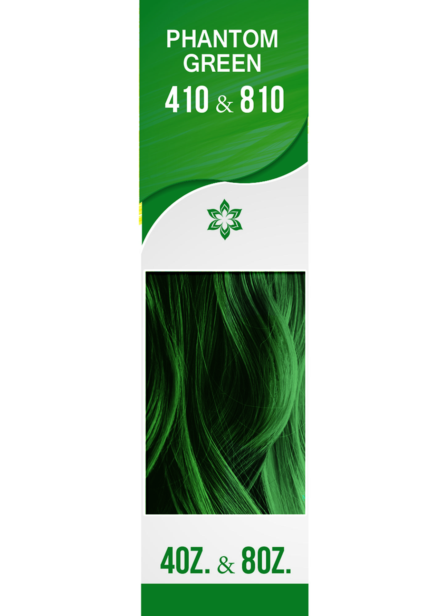 Arctic Fox Phantom Green Hair Dye