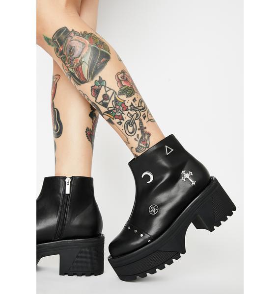 Disturbia Spellbound Ankle Boots