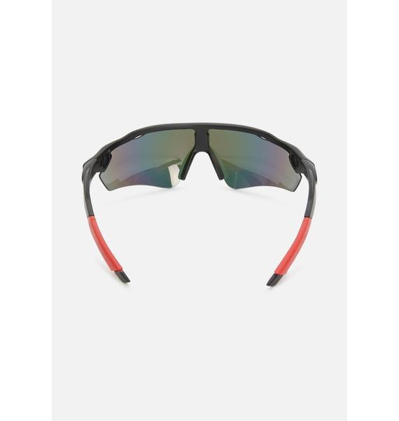 Perfect Future Shield Sunglasses