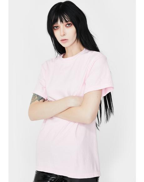 Pink Blossomed From Hell Graphic Tee
