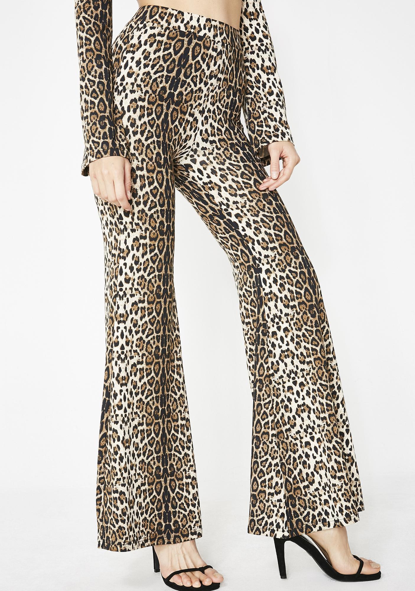 Catitude Wide Leg Pants