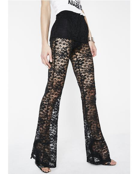Dark Tales Lace Pants