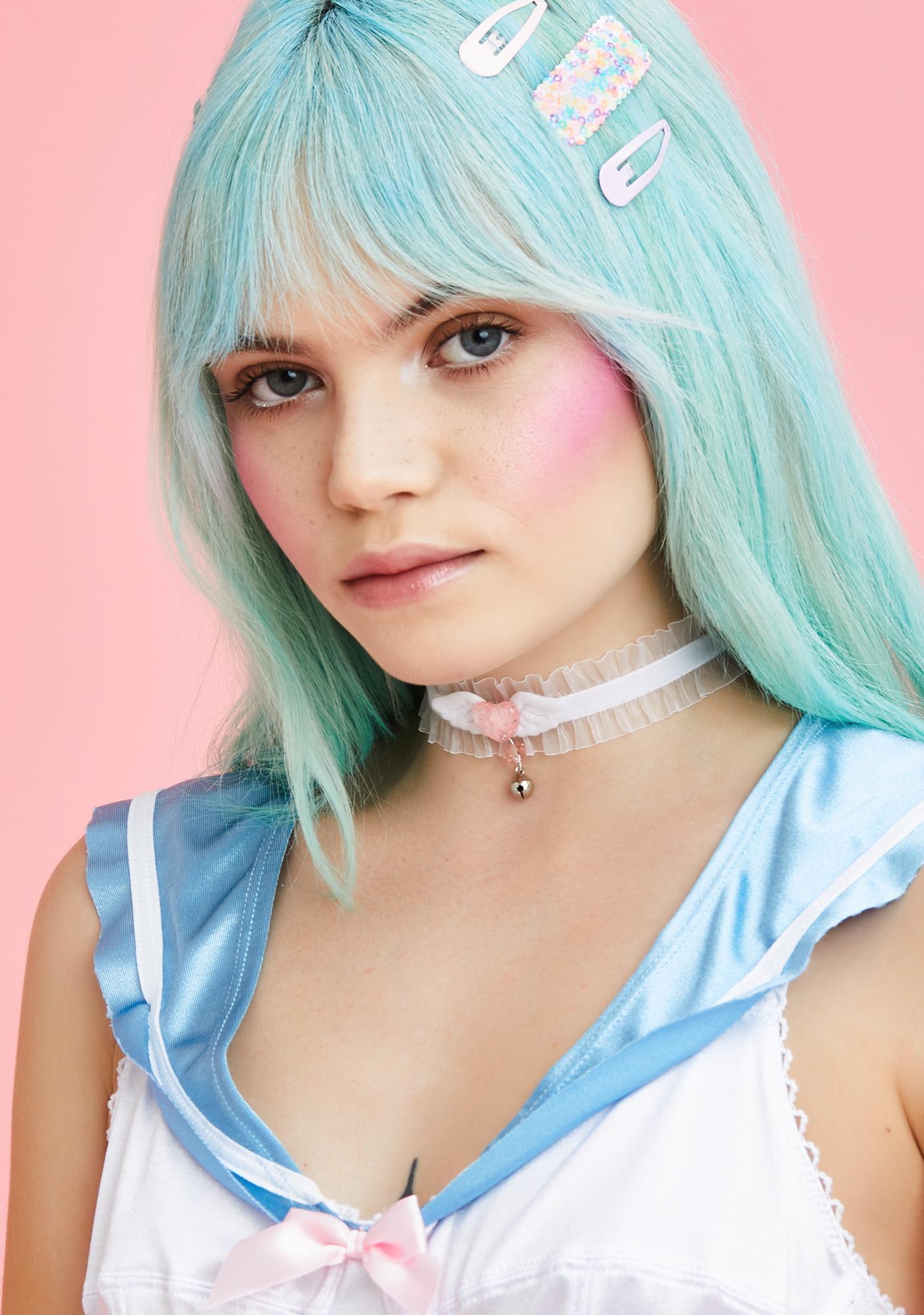 Kitty Lolita Ruffle Choker