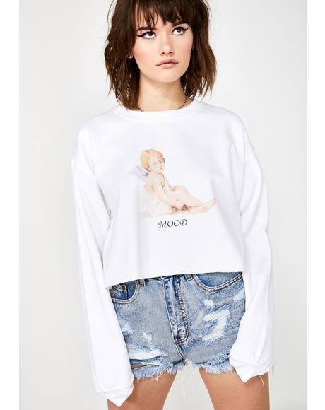 Mood Cherub Cropped Sweater