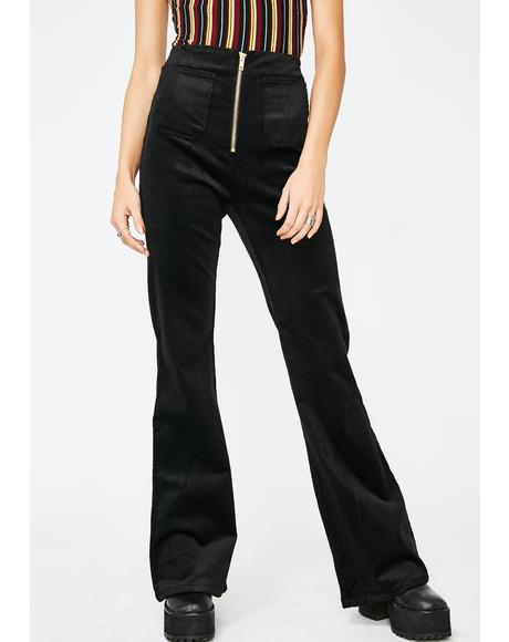 Midnight Hazy Times High Rise Pants