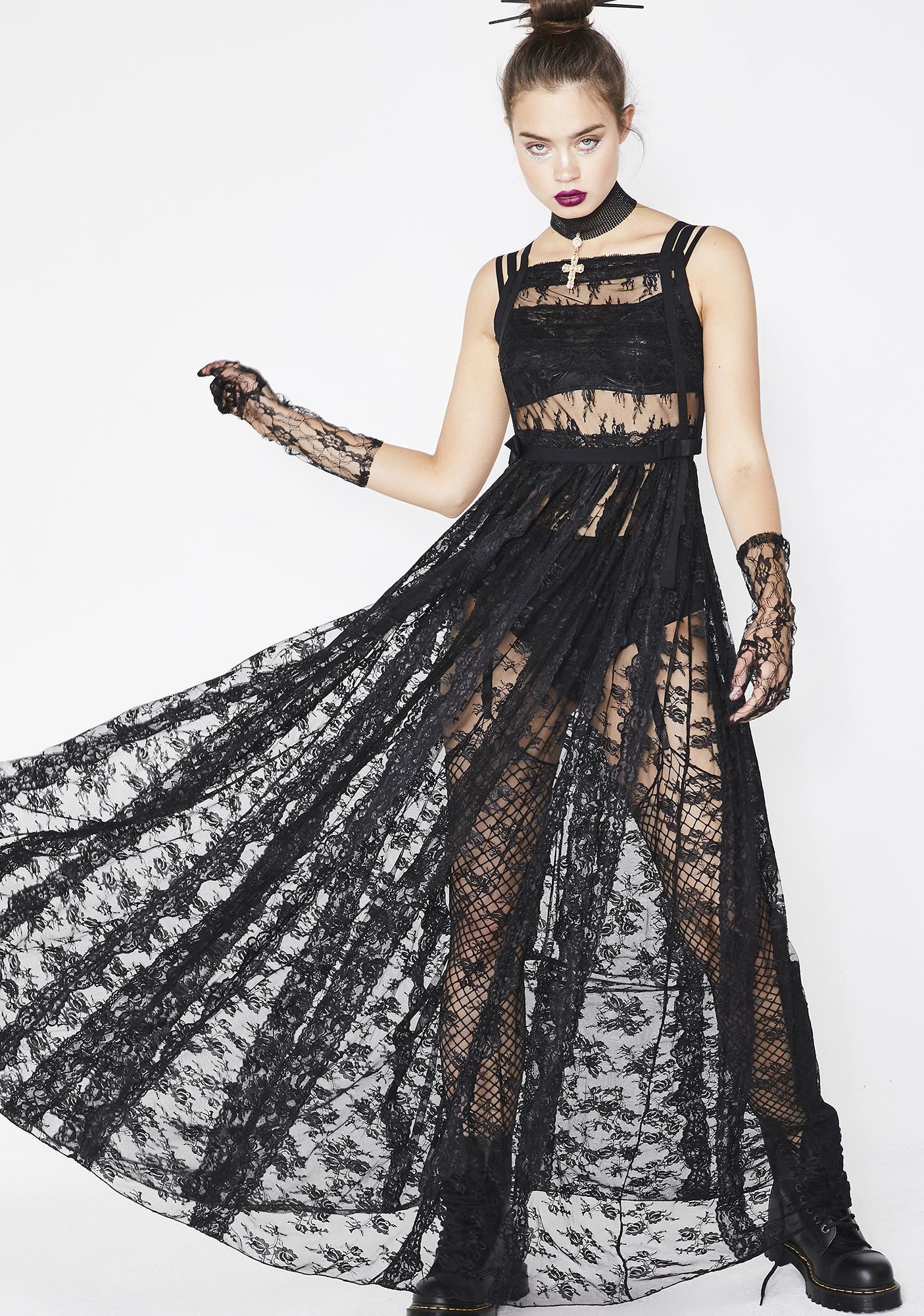 e9e133fe14a Kiki Riki Nocturnal Enchantress Maxi Dress