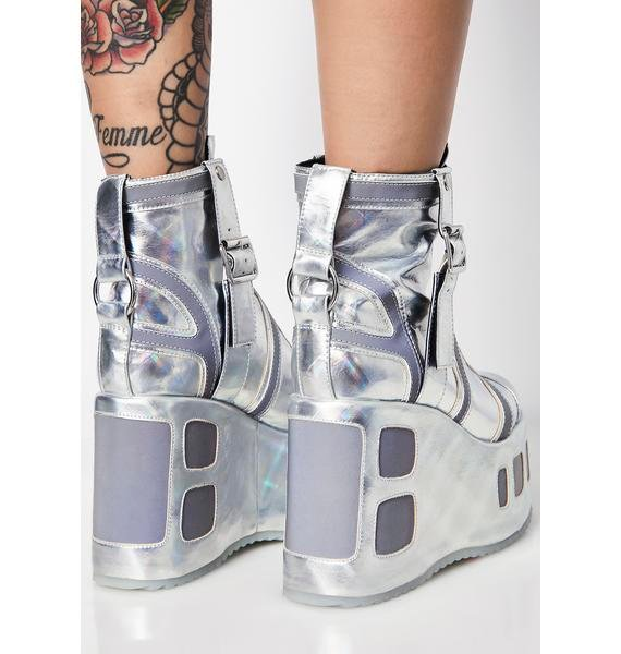 Club Exx Plutonium Reflective Platforms