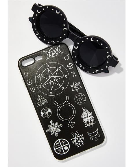 Witch Symbols iPhone Case