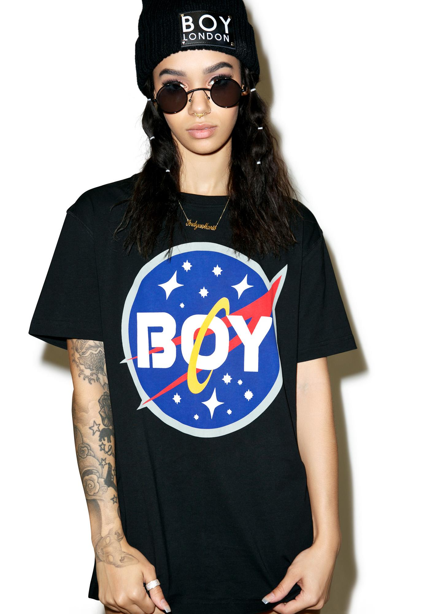 BOY London Boy Space Logo Tee