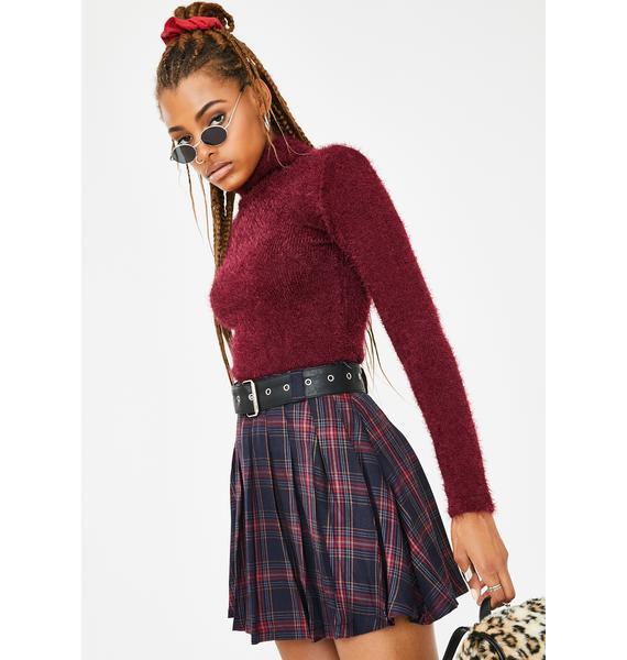 Current Mood Private School Rebel Plaid Skirt