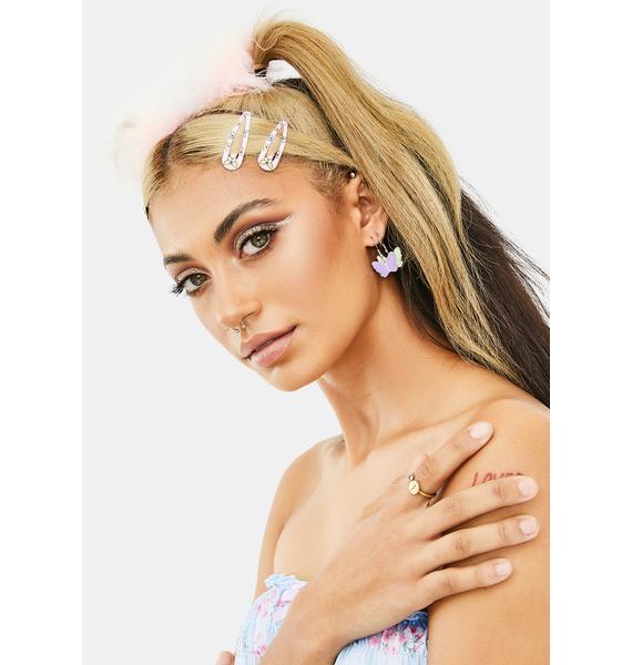 Best Budderflies Pastel Drop Earrings