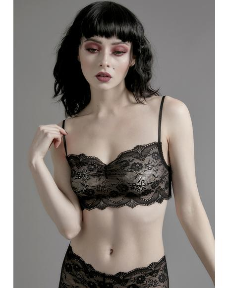 Horribly Ever After Lace Bralette