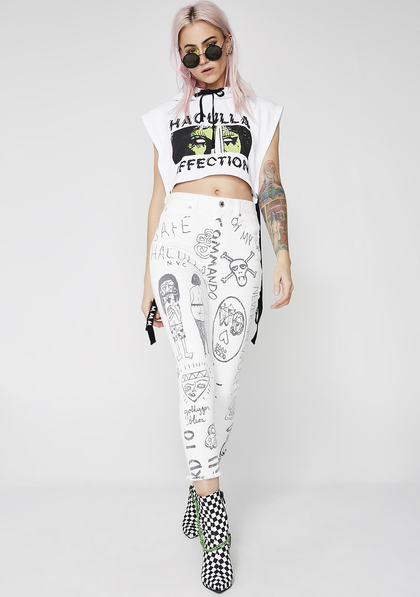 Haculla Mindful Doodles Jeans