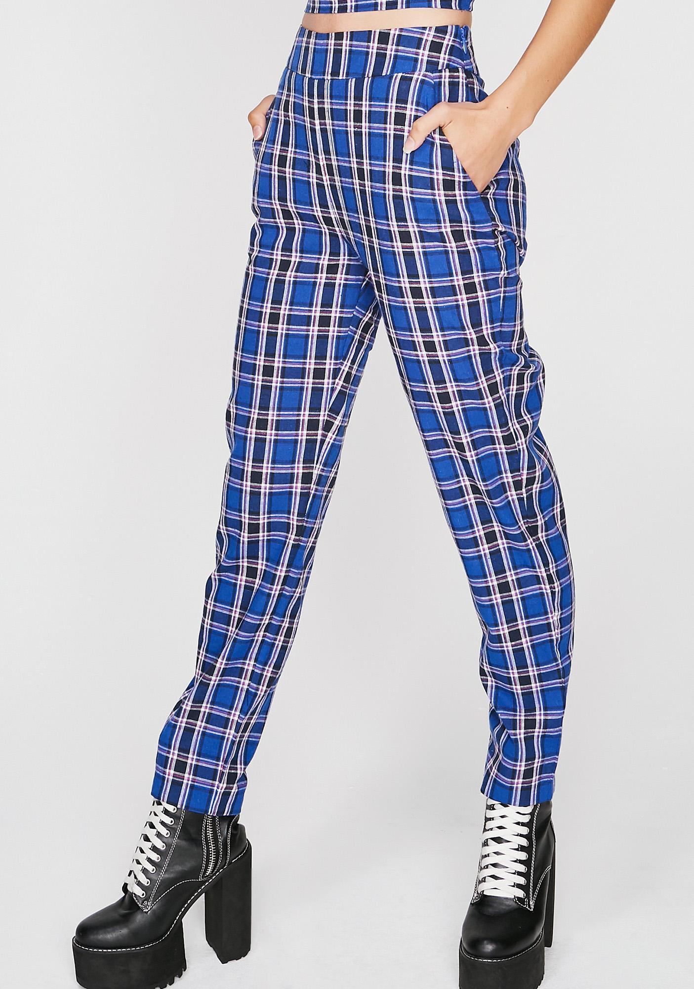Sky Rad Reject Plaid Set
