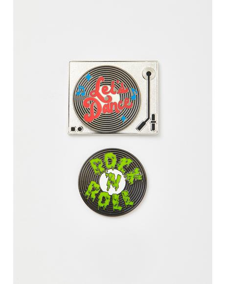Record Pin Pack