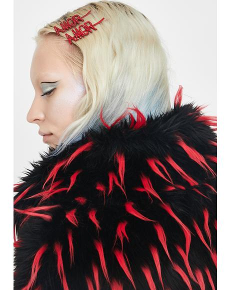 Vive L'Amour Hair Clip Set