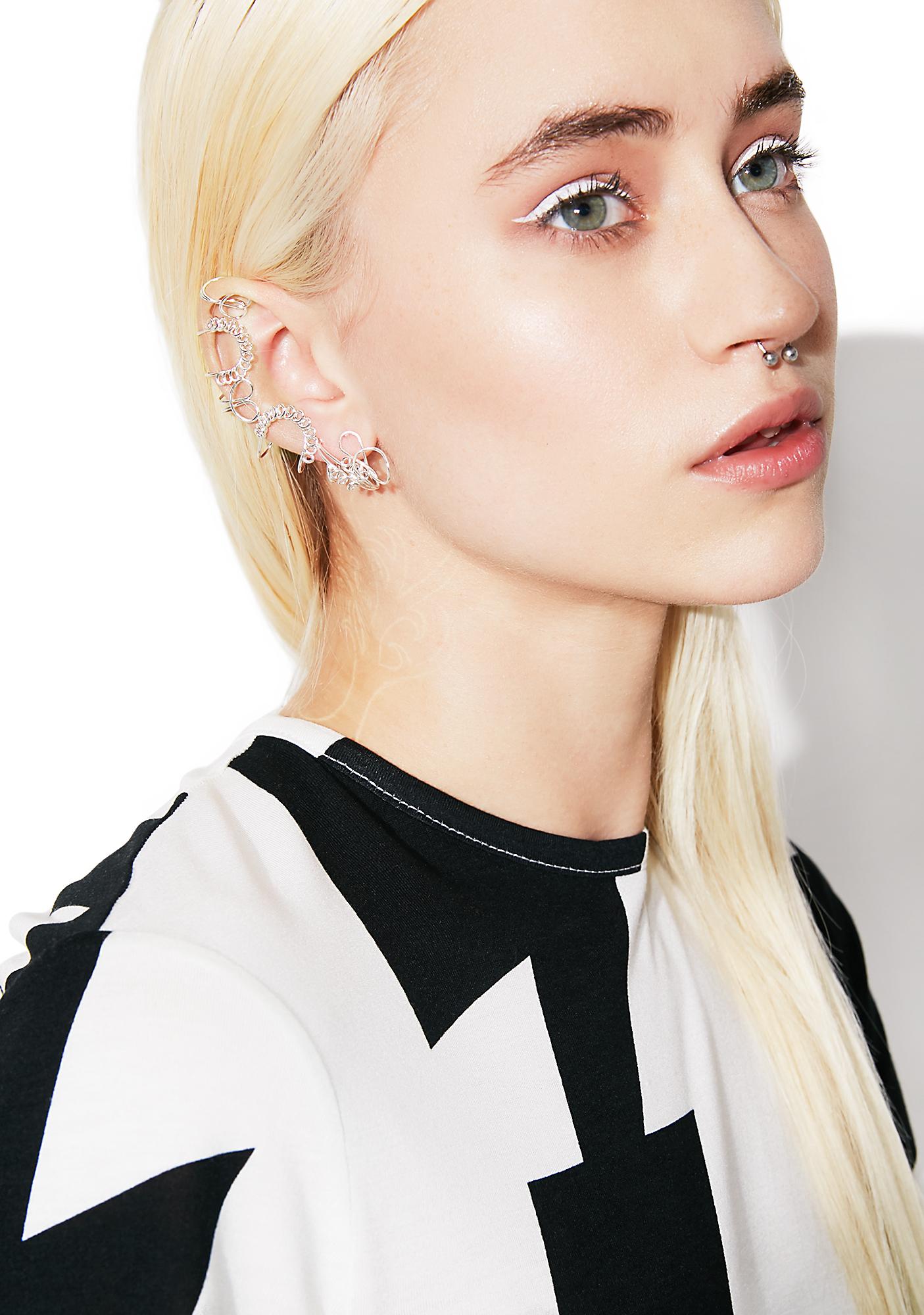 Cheap Monday Yoof Earring Set