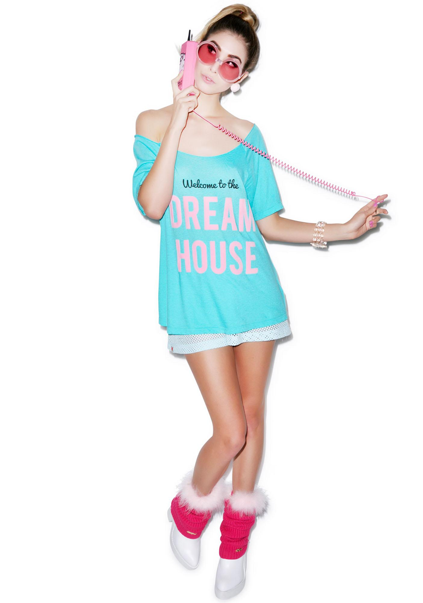 Wildfox Couture My Other Place Material Tee