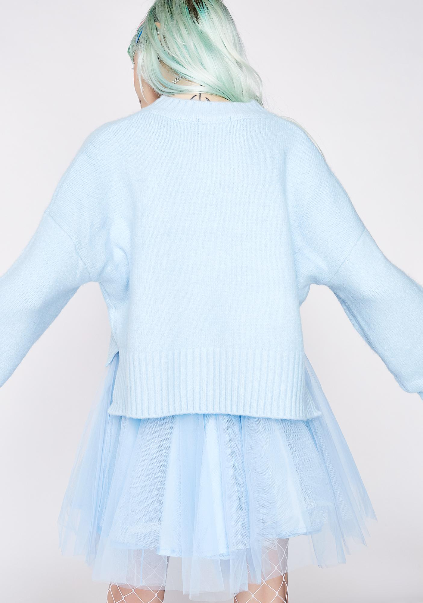 Arctic Heatwave Slouchy Sweater