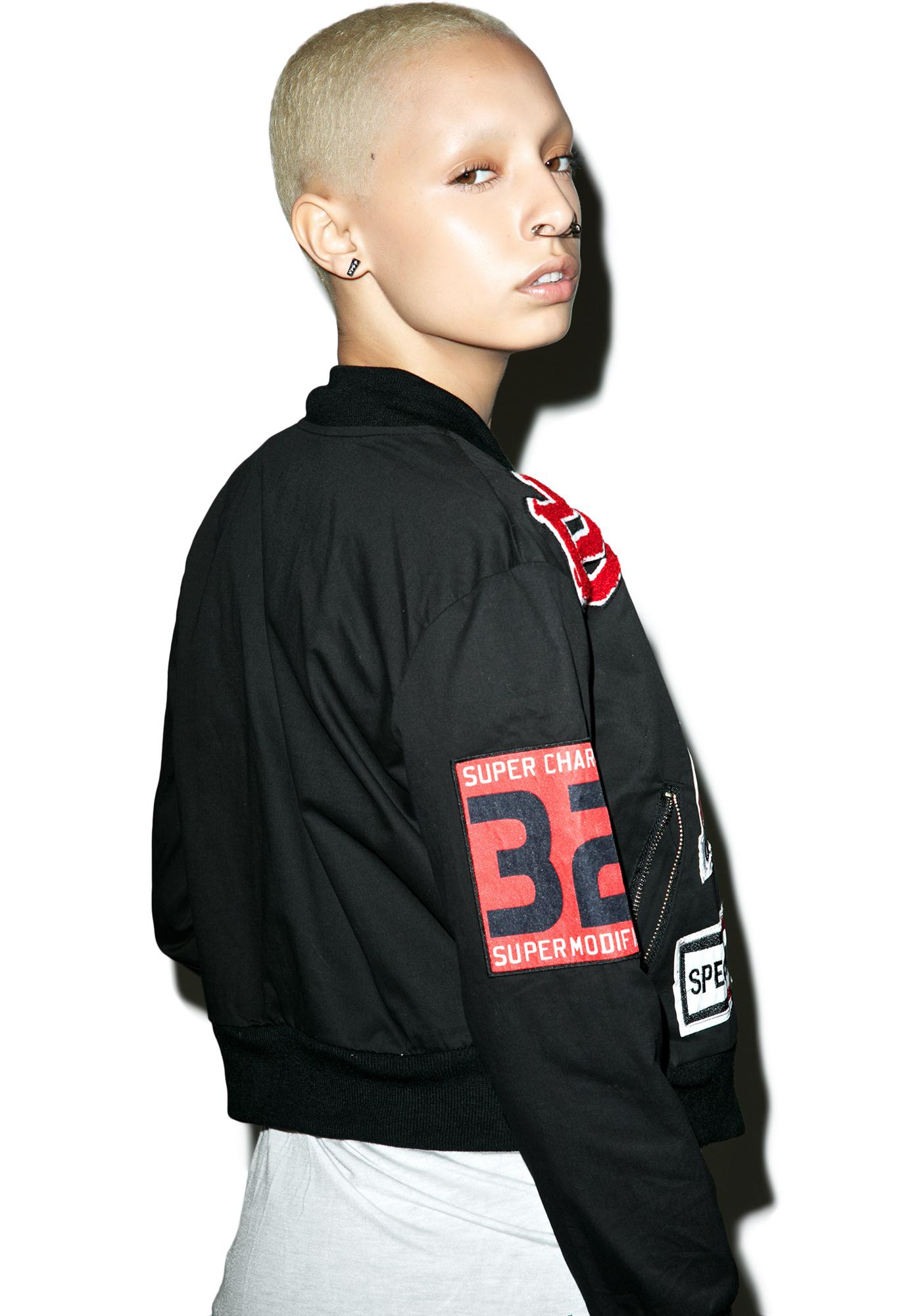 Blackout Real Deal Patch Jacket
