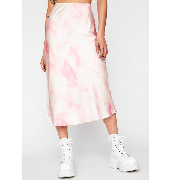 Moment To Remember Tie Dye Skirt